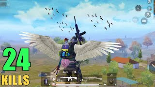 HOW TO FLY IN PUBG MOBILE | PRESIDENT | 24 KILLS
