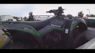 8. Buying and Driving the Kawasaki Brute Force 750!