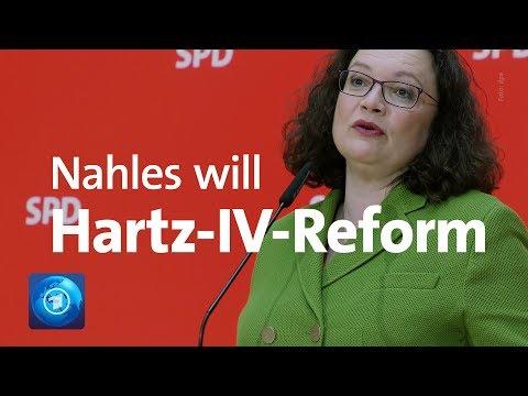 Hartz-IV-Reform: SPD-Chefin Nahles will Arbeitsloseng ...