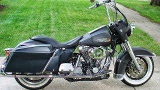 1. 1991 Harley Davidson FLT Road Glide Custom