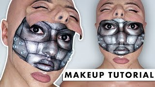 Video HALF MACHINE HALF HUMAN - SFX Makeup Tutorial MP3, 3GP, MP4, WEBM, AVI, FLV Mei 2019