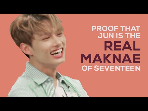 proof that jun is the real maknae of seventeen