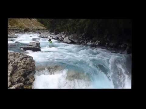 White Water Kayaking, Fiordland, New Zealand