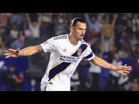 Video: GOAL: Zlatan Ibrahimovic with a close range finish to put the LA Galaxy up on FC Dallas