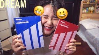 [드림]  iKON -NEW KIDS: CONTINUE Album Unboxing   아이콘 컨티뉴 앨범 개봉