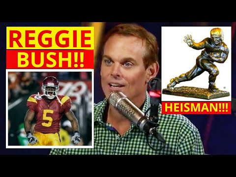Reggie Bush(Heisman Winner) National Champ At USC Discussed On The Herd With Cowherd | [Commentary]