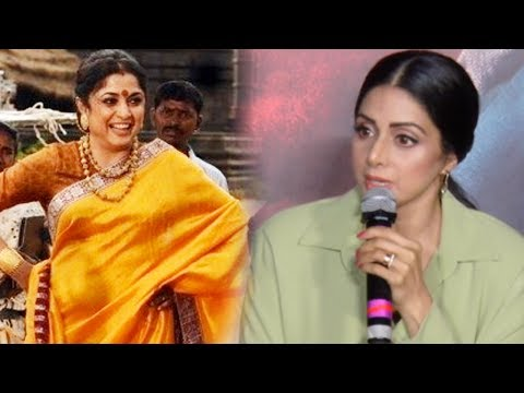 Sridevi's SHOCKING Reaction On Rejecting Sivagami'