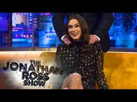 Keira Knightley Getting A Massage - The Jonathan Ross Show