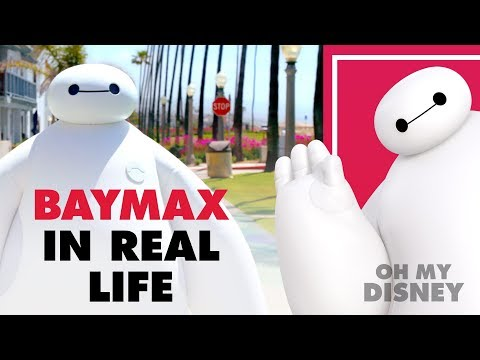 Disney s Baymax From Big Hero 6 in Real Life