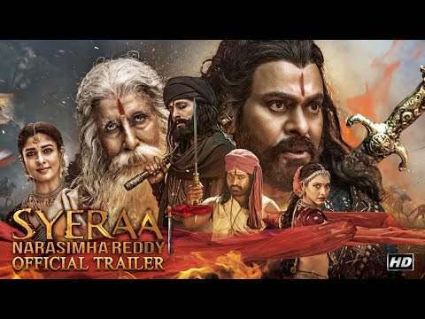 Sye Raa Trailer (Hindi) | Chiranjeevi | Amitabh Bachchan | Ram Charan | 2nd Oct