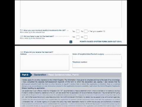 How to fill in your UK student visa application form when applying from your own country