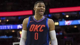Russell Westbrook vs James Harden NBA Christmas Rockets vs Thunder 2017-18 Season