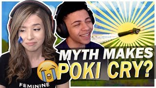 TSM MYTH MAKES POKI CRY? FORTNITE BATTLE ROYALE!