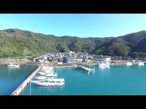 奄美大島 大熊漁港(ドローン空撮・4K)