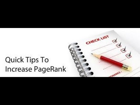 Increase Page Rank – The Secrets To Increase Page Rank on Your MLM Blog