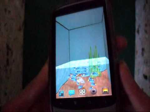 Video of 3D Aquarium LWP