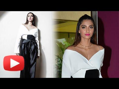FIRST LOOK : Sonam Kapoor Pre Cannes 2016 Look | H