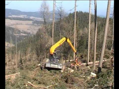 Waldfieber - Forsttechnik kompakt - Forstmaschinen im Einsatz - DVD Trailer