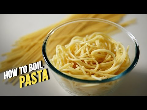 How To Boil Pasta | Learn To Cook Perfect Pasta At Home | Basic Cooking