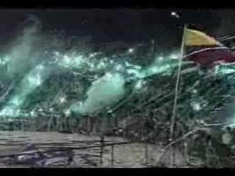 www.soydelverde.net - Final copa Suramericana 2002 - Los del Sur - Atlético Nacional