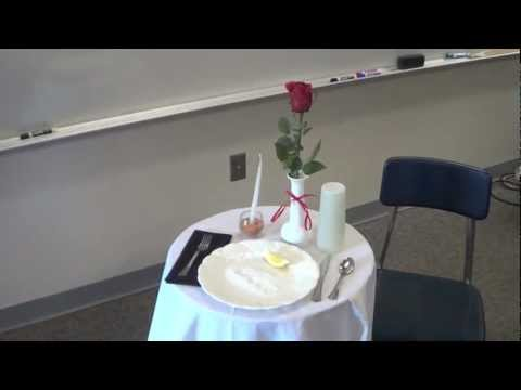 white table - Instructions on how to set up the white table for MIA or POW veterans. Brought to you by Mrs. Michels 5th grade class of 2012. Edited and Filmed by Christian...