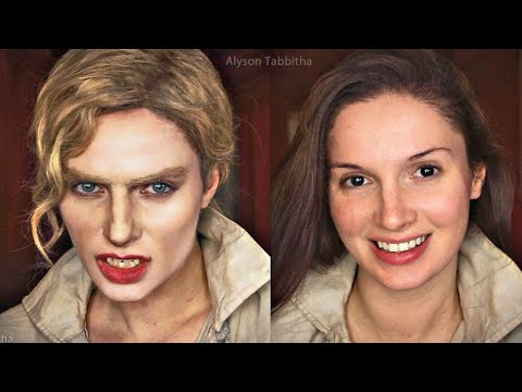 estat Vampire Makeup Transformation - Cosplay Tutorial