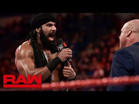 Jinder Mahal joins the Raw roster: Raw, April 16, 2018