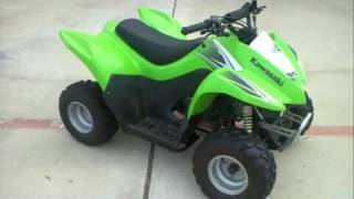 8. Review: 2009 KFX50 Youth 4 Wheeler!