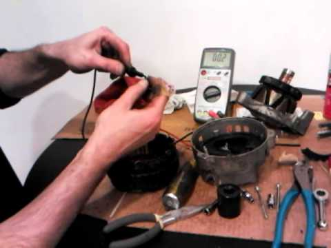 CAR ALTERNATORS – How they work / rebuild / fix / repair