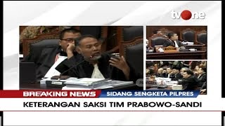 Video [FULL] BREAKING NEWS | Sidang Sengketa Pilpres 2019 - Keterangan Saksi Dari BPN (Part 2) MP3, 3GP, MP4, WEBM, AVI, FLV Juni 2019