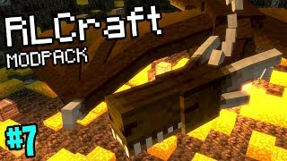 Minecraft But There Are Bigger Dragons (RLCraft Modpack #7)