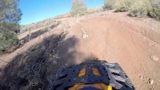 1. Breaking in the new 2016 Canam Outlander 1000 XT-P