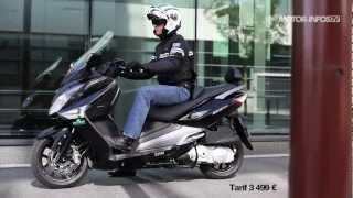 8. Essai nouveau SYM GTS 125