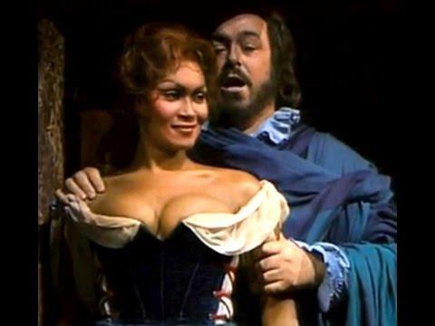 Bella figlia dell'amore ~ Sutherland & Pavarotti & Jones & Nucci (Rigoletto, MET, 1987)