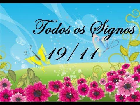 DIA 19/11/2017 TODOS OS SIGNOS | FUTURO IMEDIATO watts 11 95729 7050 Mary