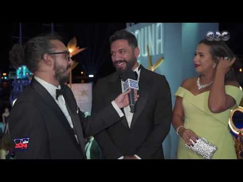 """""""مش بجد"""": مروان يونس يلتقي صاحبة أجمل أسنان في """"الجونة السينمائي"""""""