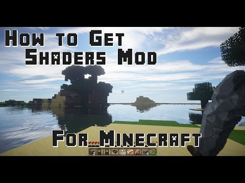 How to get Shaders Mod for Minecraft 1.7.10 (видео)