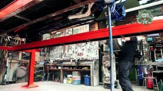 Joeri Vercoutere – Restauration de Mustangs