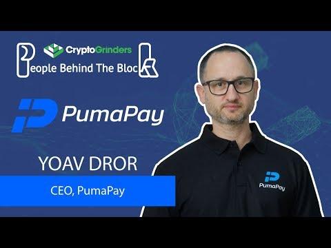 PumaPay | AMA with Yoav Dror (CEO) video
