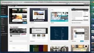 Wordpress 3.9 Complete Tutorial Video
