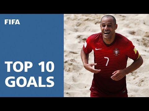 TOP 10 GOALS: FIFA Beach Soccer World Cup Portugal 2015