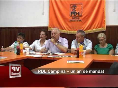 PDL Câmpina – un an de mandat