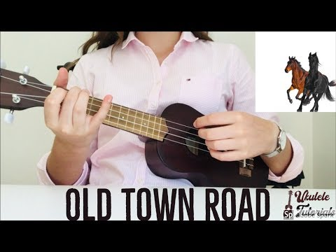 Lil Nas X - Old Town Road ft. Billy Ray Cyrus (EASY Ukulele Tutorial)