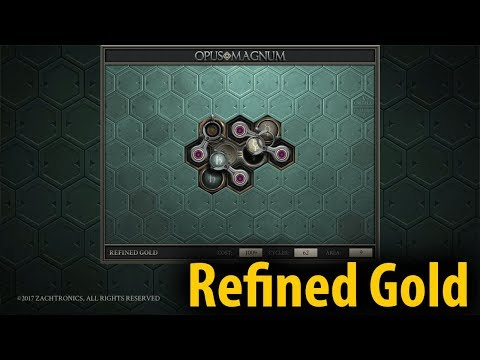 Refined Gold (40/62/6)   Opus Magnum #3 Let's Play with Lyte