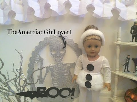 American Girl Doll Halloween Costumes to Make How to Make American Girl Doll