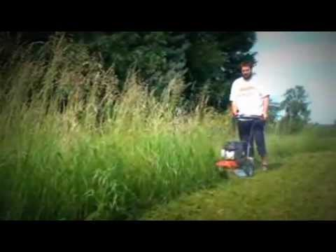 καταστροφεας - Μηχανοκίνητος καταστροφέας αγριόχορτων (αυτοκινούμενο θαμνοκοπτικό μηχάνημα) Η σοβαρή και παραγωγική λύση για τα αγριόχορτα...