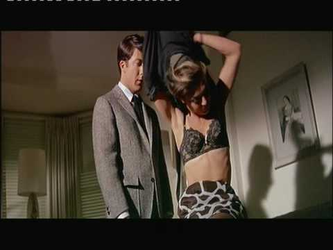 anne - Anne Bancroft and Dustin Hoffman in 'The Graduate'. This is the scene before the start of their affair.