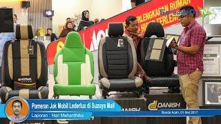 Pameran Jok Mobil Lederlux di Suzuya Mall Banda Aceh