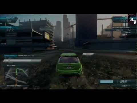 Gameplay Need For Speed Most Wanted 2012 - Ford Focus St -
