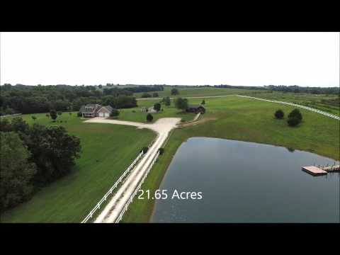 House for sale with 21.65 Acres in Clinton County Missouri